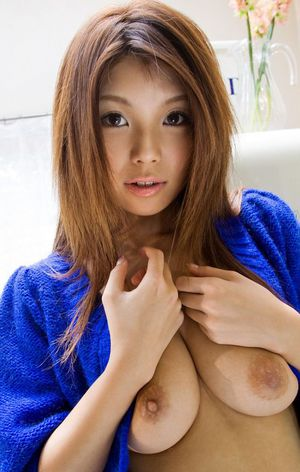 Nude asian college girl Azumi Harusaki..